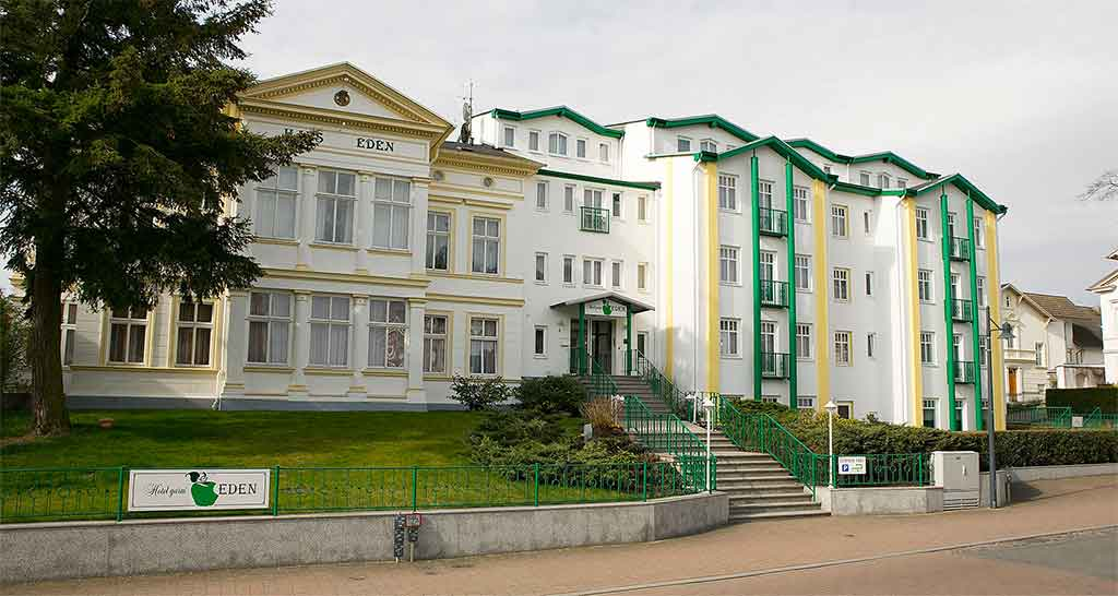 Hotel Garni Eden Im Seebad Ahlbeck Auf Der Insel Usedom Das Hotel